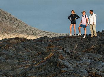 Go Galapagos hiking