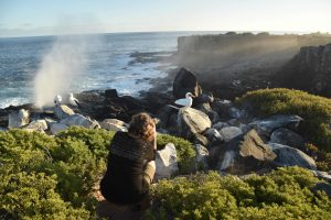 Espanola Island Galapagos Blowhole