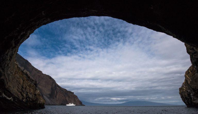 Seascape at Punta Vicente Roca, Galapagos Islands