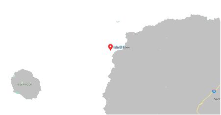 Ballena Bay or Eden Isletmap