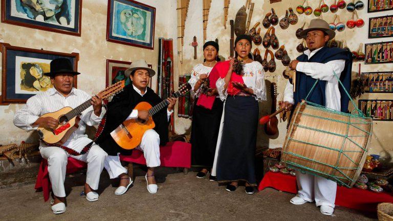 Otavalo indigenous community & Chaski Route